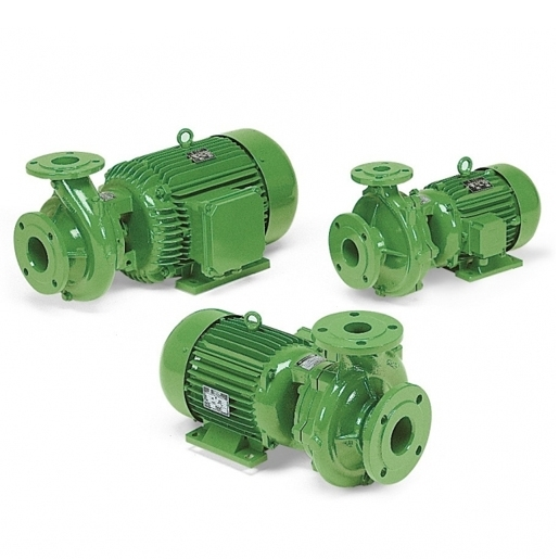 Monobloc electric pumps