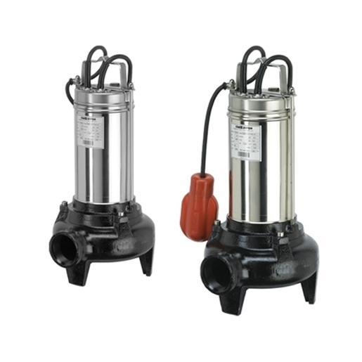 Electric submersible pumps for sewage