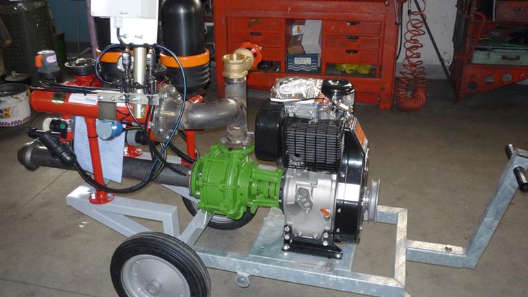 Pompes bridées sur moteurs thermiques