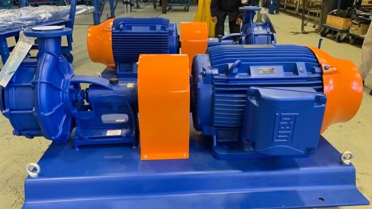 卧式多级高压泵