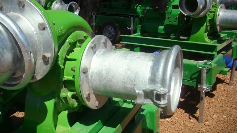 单级SAE法兰式泵热机驱动