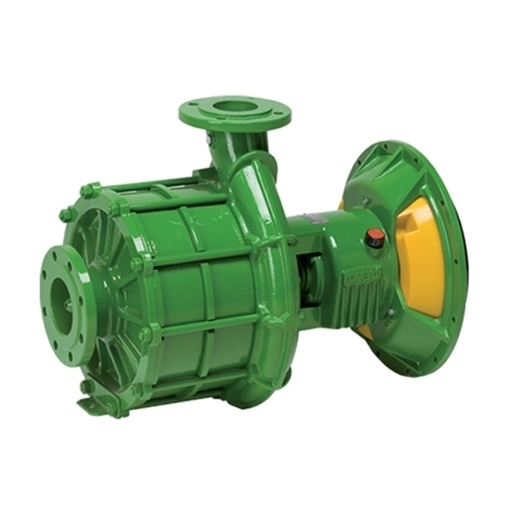 Multistage SAE flanged pumps for thermic engines