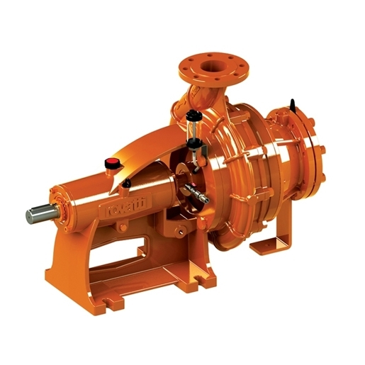 Horizontal bareshaft single-stage centrifugal pumps with chopper cone