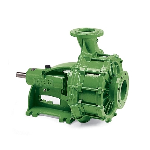 Horizontal multistage high pressure pumps