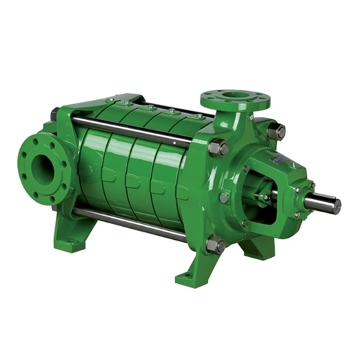 Horizontal multistage high pressure pumps with double bearing support EUROPA series