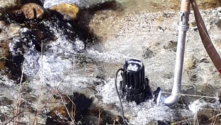 Elektrotauchpumpen für Abwasser mit Zweikanalaufrad