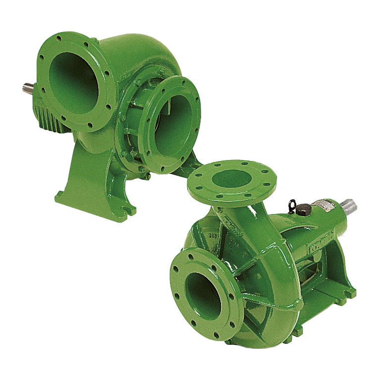 Single-stage horizontal low pressure pumps