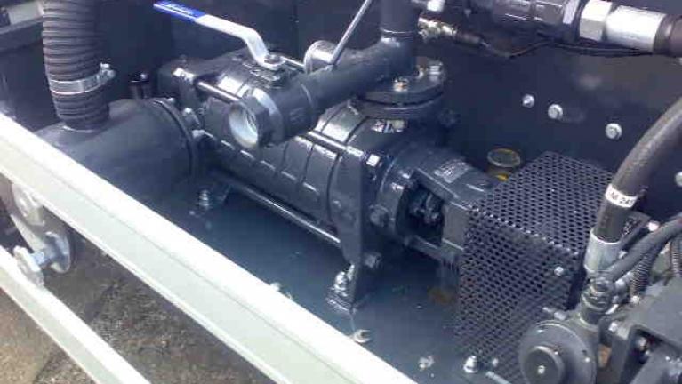 Pompes multicellulaires à axe horizontal à haute pression avec double support série EUROPA