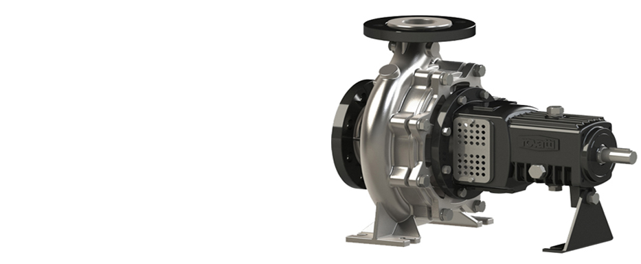 New AISI 316 centrifugal pumps according to EN733 Norm SNX series