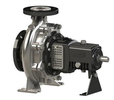 Nouveau pompes centrifuges normalisées EN733 en acier inox AISI 316 série SNX