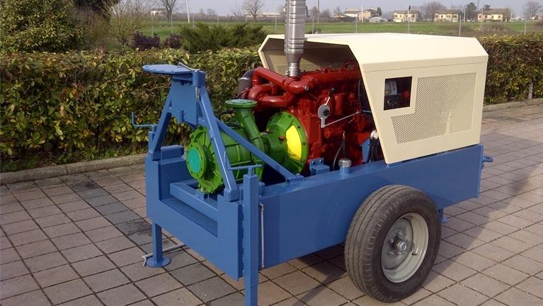 多级SAE法兰式泵热机驱动EUROPA系列