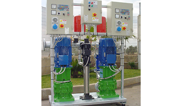 Vertical multistage electric pumps EUROPA series