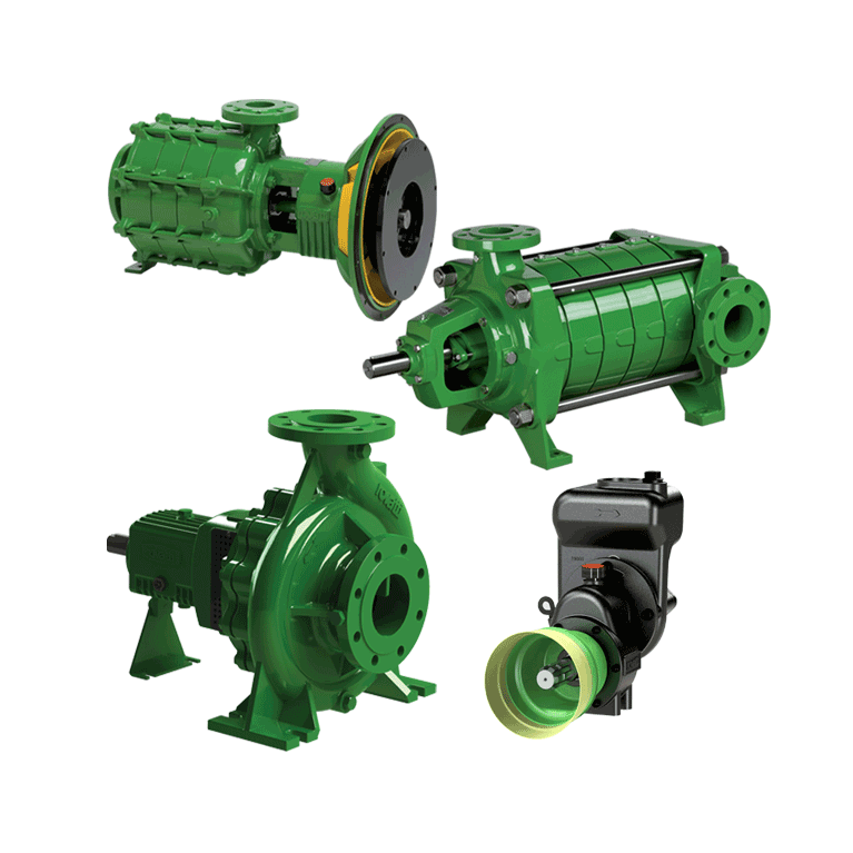 Surface pumps
