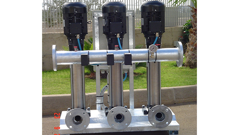 Vertikale Mehrstufige Elektropumpen aus Edelstahl AISI 304